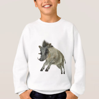 Warthog Jumping to Right Sweatshirt
