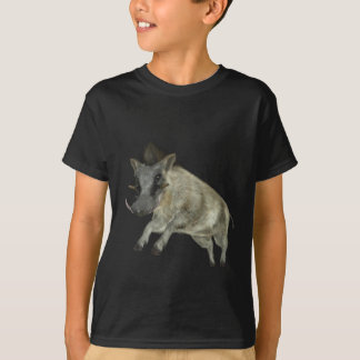 Warthog Jumping to Right T-Shirt