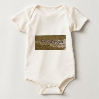 Warthog Parade Tom Wurl Baby Bodysuit