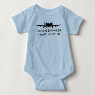 Warthog Pilot Spawn A-10 Thundebolt 2 Funny Baby Baby Bodysuit