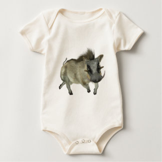 Warthog Running Left Baby Bodysuit