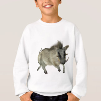 Warthog Running Left Sweatshirt