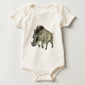 Warthog Running to Right Baby Bodysuit