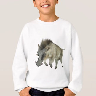 Warthog Running to Right Sweatshirt