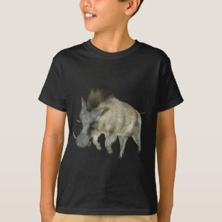 Warthog Running to Right T-Shirt