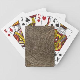 WARTHOG SKIN PLAYING CARDS