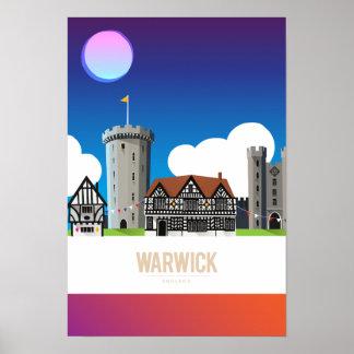 Warwick, England Print