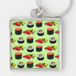 Wasabi Green Sushi Key Chain