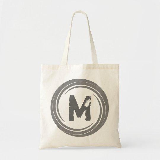 Washed Away! Grey Monogram Bag