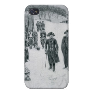 Washington and Steuben at Valley Forge iPhone 4 Cover