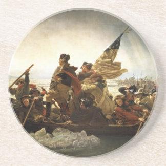 Washington Crossing the Delaware - 1851 Coaster