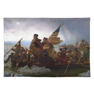 Washington Crossing the Delaware by Emanuel Leutze Placemat