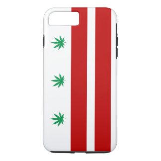 Washington D.C. Pot Leaf Flag iPhone 8 Plus/7 Plus Case