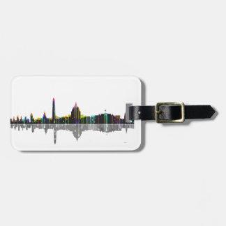 Washington, D.C. Skyline Bag Tag
