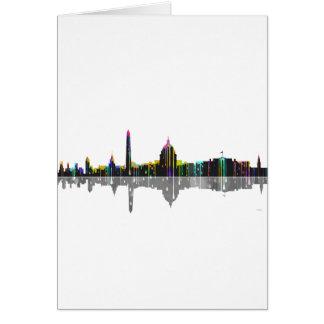 Washington, D.C. Skyline Card
