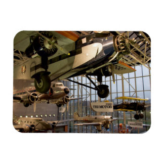 WASHINGTON, D.C. USA. Aircraft displayed in Rectangular Photo Magnet