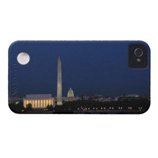 Washington DC at Night iPhone 4 Covers