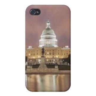 Washington DC, Capitol Building iPhone 4 Covers