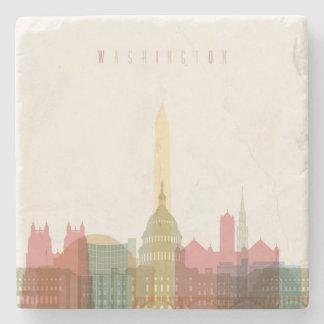 Washington, DC   City Skyline Stone Coaster