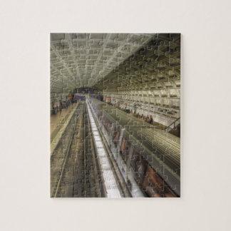 Washington DC Metro Train Station Jigsaw Puzzle