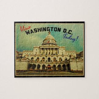 Washington DC Vintage Jigsaw Puzzle