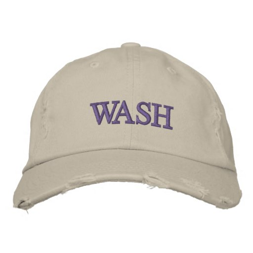 Washington Embroidered Hat