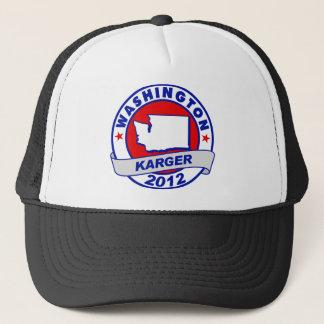 Washington Fred Karger Trucker Hat