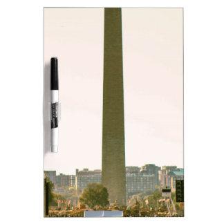 Washington Monument Dry Erase Board
