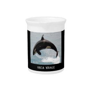Washington Orca Whale Drink Pitchers