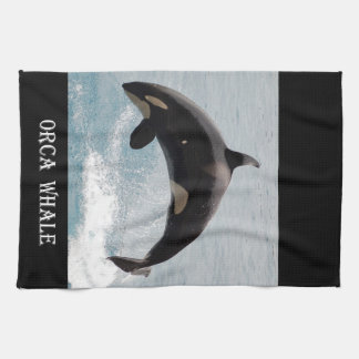 Washington Orca Whale Towels