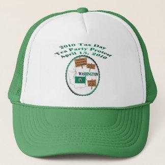 Washington Tax Day Tea Party Protest Trucker Hat