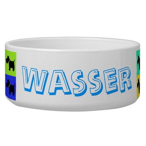 Wasserbehälter für hund dog water bowls
