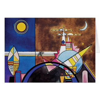 Wassily Kandinsky - Great Gate Of Kiev Abstract Card