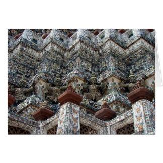 Wat Arun Greeting Car Card