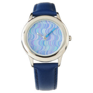 Watch - Kid's - Cool Blue Curves