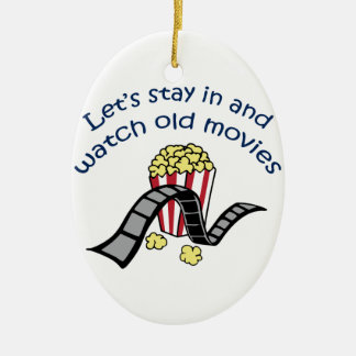Watch Old Movies Christmas Ornament