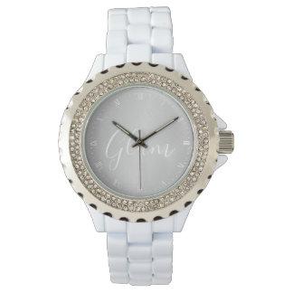 Watch - Silver Glam