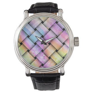 WATCHES - PASTEL WEAVE PATTERN
