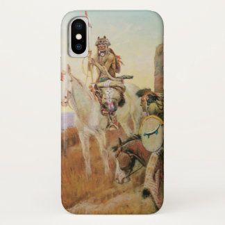 Watching for the White Man's Boats by OC Seltzer iPhone X Case