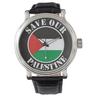 watchpalestine gaza save wrist watches