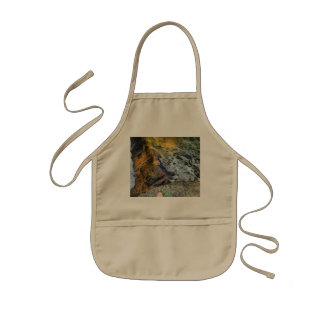 Water and rock kids apron