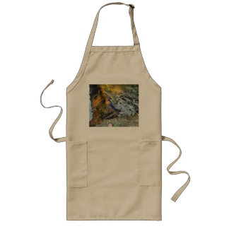 Water and rock long apron