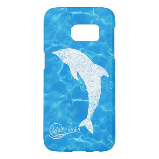 Water Baby Dolphin Wave Case