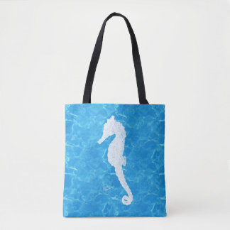 Water Baby Seahorse Tote