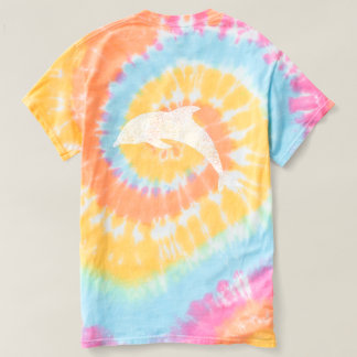 Water Baby Vintage Dolphin Tie Dye Tee Shirts
