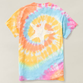 Water Baby Vintage Starfish Tie Dye Tshirt