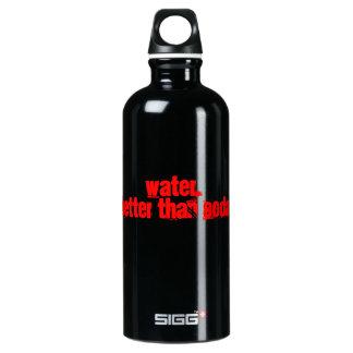 Water, better than soda SIGG traveller 0.6L water bottle
