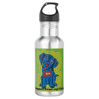 Water bottle featuring pet art by Jeff Danford