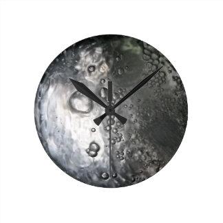 Water Bubbles-Abstract Wallclock