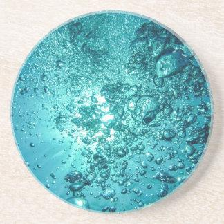 Water Bubbles Beverage Coaster